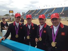 Twitter / clarebalding1: Our gold medal winning show ...