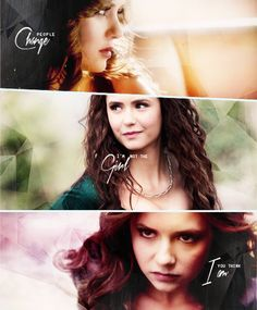 Image shared by liarscantgoback. Find images and videos about the vampire diaries, tvd and Nina Dobrev on We Heart It - the app to get lost in what you love. Serie The Vampire Diaries, Vampire Diaries Wallpaper, Vampire Diaries Quotes, Vampire Diaries The Originals, Nina Dobrev, Katharina Petrova, Divas, Im A Survivor, Original Vampire