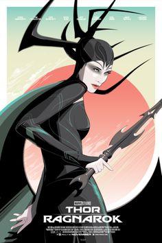 Hela 'Thor Ragnarok' Poster - Craig Drake