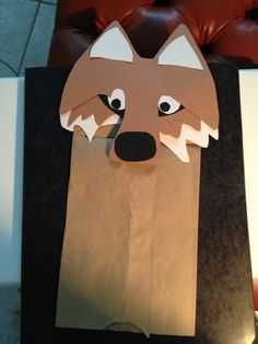 Paper bag puppet for my Compassion child