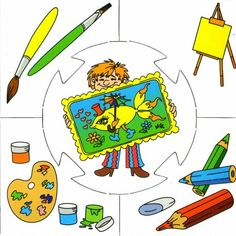 Crafts,Actvities and Worksheets for Preschool,Toddler and Kindergarten.Free printables and activity pages for free.Lots of worksheets and coloring pages. Preschool Education, Preschool Learning, Preschool Activities, Teaching, Community Workers, Community Helpers, Puzzle Crafts, Kindergarten, School Clipart