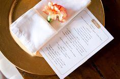 My wedding menu - meu cardápio do casamento!