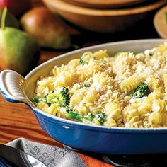 Four Cheese Macaroni and Cheese with Broccoli (can sub caulif/kale ...