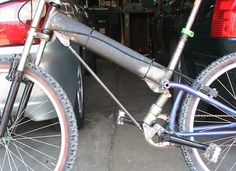 Prototype URT suspension bike