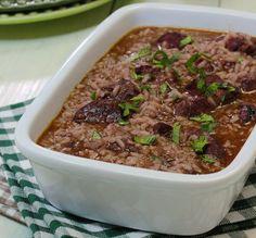 Arroz de Entrecosto em Vinha d'Alhos Rice Recipes, Risotto, Portugal, Beef, Dinner, Cooking, Food, Sauce Recipes, Dinner Ideas