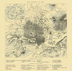 Map of Athens Historical Maps, Greece, Vintage World Maps, History, Monuments, Lost, Winter, Greece Country, Historia