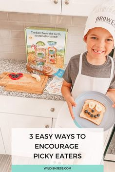 This contains: little boy holding sandwich he made Attachment Parenting, Picky Eaters, Baby Wearing, Breastfeeding, New Recipes, Encouragement, Humor, Baking, Heart