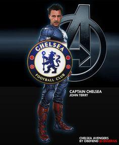 The Ordinary Joe: Chelsea's version of The Avengers Hot Football Fans, Chelsea Football, Chelsea Fc, John Terry, Blue Flag, Blue Bloods, Vancouver Island, Love Affair, Captain America