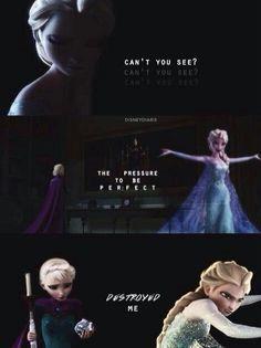Dark Disney ♥ Elsa Frozen