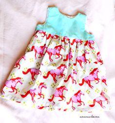 {Tutorial} DIY Little Geranium Dress | momofmarlee