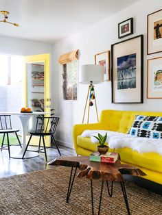 7 Ways to Decorate with Yellow