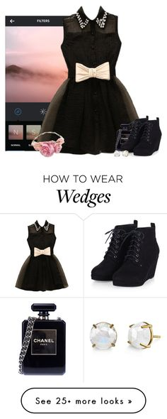 """Filter"" by the-l0st-girl on Polyvore featuring Chanel, women's clothing, women, female, woman, misses and juniors"