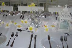 Frangipani Table Decoration