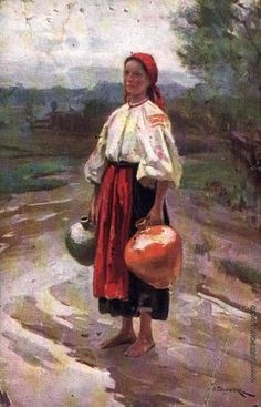 Пимоненко Н. К. У ручья