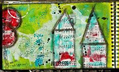 Lulu Berlue art journaling #mixed_media