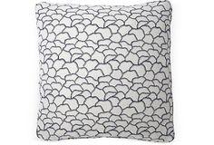 Mountain Wave 20x20 Pillow, Blue on OneKingsLane.com  #pillow #stuffed