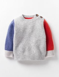 Explore our exciting range of baby knitwear at Boden. Baby Cardigan Knitting Pattern Free, Knitting Patterns Boys, Baby Sweater Patterns, Knit Baby Sweaters, Baby Pullover Muster, Crochet, Cashmere Jumper, Boys, Kid Outfits