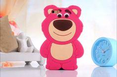 Funda Iphone 6 6s Oso Lotso Protector Silicon Suave - $ 159.00 en MercadoLibre
