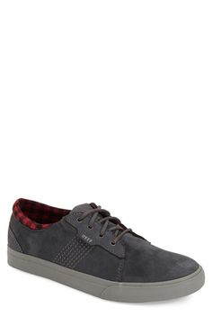 Free shipping and returns on Reef 'Ridge' Sneaker (Men) at Nordstrom.com. Smooth suede accents refine a versatile canvas sneaker fashioned with a compression-molded insole to provide comfort-enhancing cushioning.