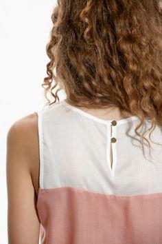 JUHU - Blouse - rose/white - Frauen - Fashion against Human Trafficking
