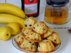 Muffins à la banane, poire et lait de coco Brownie Cupcakes, Cupcake Cakes, Flan, Tupperware, Biscuits, Eat Cake, Gluten, Potatoes, Ajouter