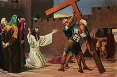 Second station:Jesus accepts his cross