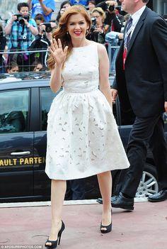 Dolce e gabbana white dress nicole