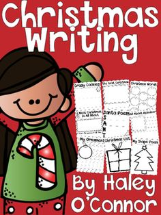 Christmas Writing Printables, Flipbooks, and Activities
