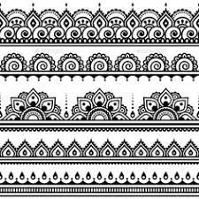 Image Result For Lace Garter Drawing Pattern Henna Indiana Desenhos De Henna Mehndi Designs