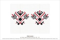 Creative Embroidery, Folk Embroidery, Cross Stitch Embroidery, Embroidery Patterns, Cross Stitch Charts, Cross Stitch Patterns, Scandinavian Folk Art, Crochet Diagram, Tapestry Crochet