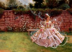 "fairy-tales1977: ""   Cinderella, illustrations by Ruth Sanderson """