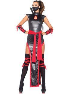 Sexy Women's Shadow Ninja Costume