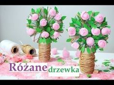 Różane drzewko szczęścia z rolki DIY - Moje Dzieci Kreatywnie Diy And Crafts, Arts And Crafts, Mothers Day Crafts, Creative Art, Techno, Floral Wreath, Etsy Shop, Table Decorations, Handmade