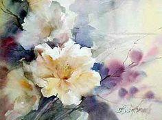 Risultati immagini per Fabio Cembranelli Watercolor Artists, Watercolor Cards, Watercolour Painting, Watercolor Flowers, Painting Prints, Watercolors, Art Floral, Flower Images, Flower Art