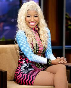 Nicki Minaj 2012 Blonde Hair