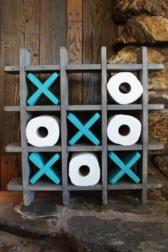 Check out this item in my Etsy shop https://www.etsy.com/listing/537925238/bathroom-tic-tac-toe-game-made-to-order