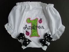 Custom bloomers! <3