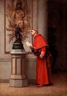 Jehan Georges Vibert (1840-1902) —  (604x865)