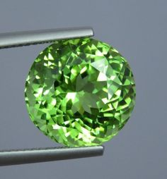 Flawless 9.52 Ct Beautiful Natural Apple Green Peridot | Etsy