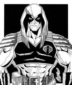 Zartan by r-i-p-p-l-e on DeviantArt Cartoon Video Games, Cartoon Clip, 80s Characters, Top Villains, Cobra Art, Man Sketch, Cobra Commander, Storm Shadow, Gi Joe Cobra