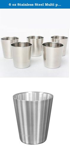 6 oz Stainless Steel Multi purpose double Wall Cups-4 PCS. Whether it's water, iced coffee, juice, smoothies, milk or any other beverage, Kleen Kanteen's Stanless Steel Cup is a multi-use cup for any occasion. Take it to your next concert, barbeque, beach trip, or just your own backyard. Throw a stack in your picnic basket, clip one on a backpack, or keep a few in your kitchen. The Stainless Steel Cup also loves to go camping, boating, or hiking deep into the backcountry. Ditch the…