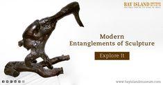 Modern Entanglements of Sculpture #driftwood #root #Sculpture #museum https://www.bayislandmuseum.com/