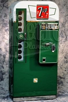 The VMC 81 soda vending machine is one of the most collectible models among soda machine collectors. It had a more limited production than its Coca-Cola Soda Vending Machine, Coke Machine, Vending Machines, Vintage Coke, Vintage Candy, Vintage Tools, Coca Cola, Pepsi, Soda Machines