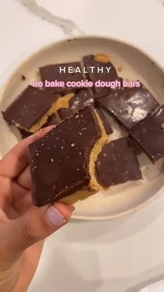 Healthy No Bake Cookies, Healthy Sweets, Healthy Dessert Recipes, Healthy Baking, Snack Recipes, Healthy Summer Snacks, Healthy Bedtime Snacks, Health Desserts, Healthy Food
