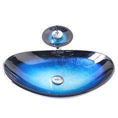 彩色上絵洗面ボウル&蛇口セット 手洗器 手洗い鉢 洗面ボール 洗面台 洗面器 洗面ボール 排水金具付 SN779