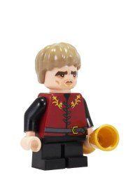 Tyrion The Imp - A Throne of Bricks - miniBIGS Custom Minifigure.  $20 USD.
