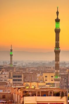 Minaret's of Luxor,   Egypt
