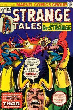 STRANGE TALE 182, DR. STRANGE, THOR, BRONZE AGE MARVEL COMICS