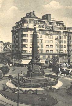 1952 – MILANO - Piazza e Monumento 5 Giornate