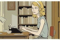 Sylvia Plath by Adrian Tomine